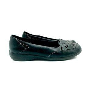 Clarks dark brown Loafers, Size 8.5 M, EUC